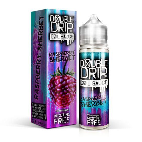 Raspberry Sherbet E-Liquid by Double Drip