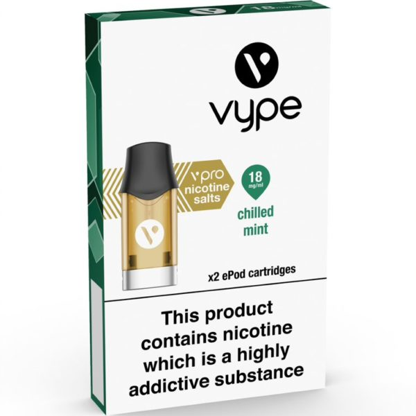 vype Epod Chilled Mint Cartridge pack