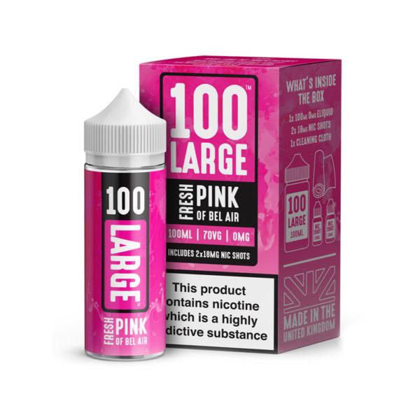 100 large fresh pink 100ml