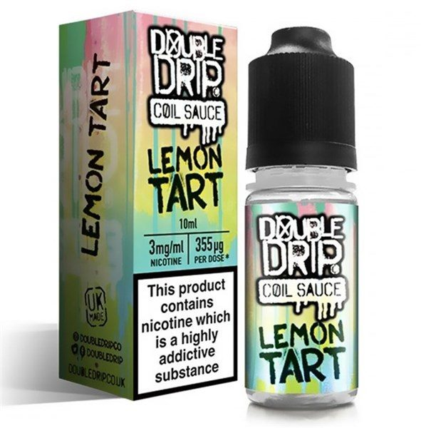 Double Drip Lemon Tart