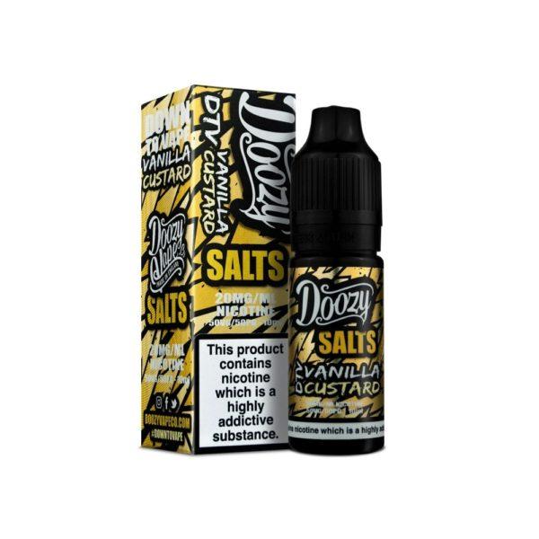 doozy Vanilla Custard Nic Salts