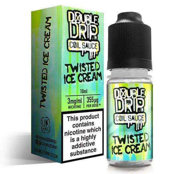 Twisted Ice Cream Double Drip