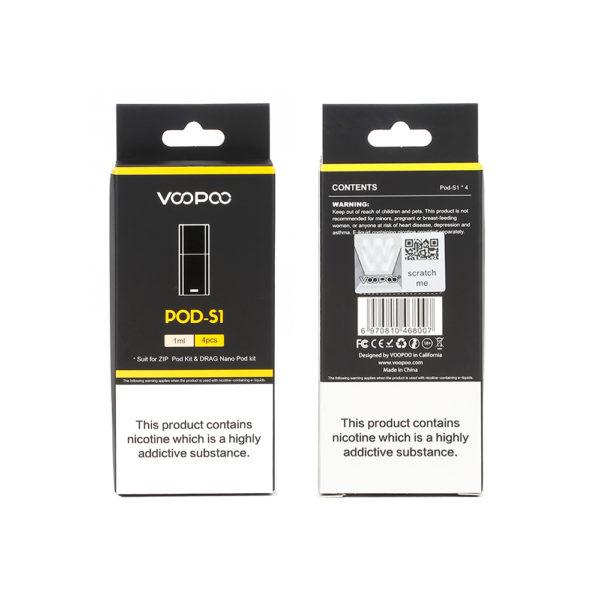 VooPoo Drag Nano Pod S1 - 4pk