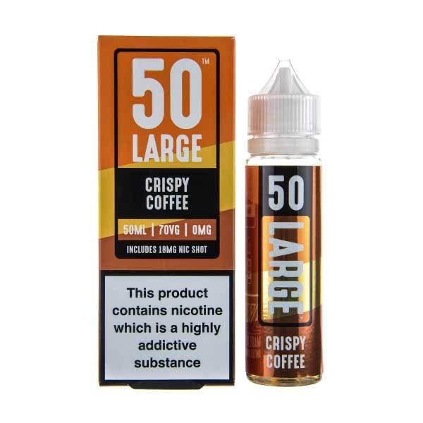 50 large Crispy coffee bottle