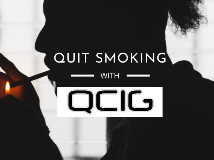 QCIG 10ML RANGE : How Qcig is helping people quit smoking
